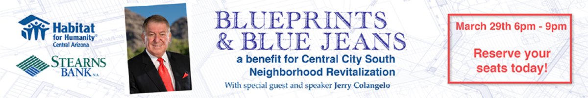 Blueprints and Blue Jeans banner ad